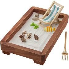 zen sand garden for desk desktop zen garden office desk stress relief calm relax sand rocks