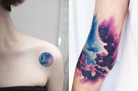 21 space tattoos to totally out