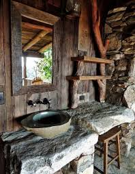 awesome cozy and warm rustic bathrooms decor ideas chatodining and