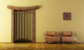 Japanese Minimalist Living Living Room Wall Decorating For Living Room With Brown Single