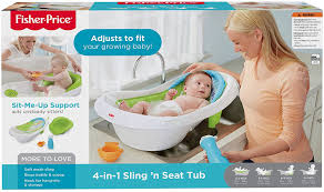 baby tub for sink buy fisher price 4 in 1 sling n seat tub online at low prices in