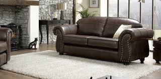 Pigmented Leather Sofa Tips For Decorating With Leather Furniture Design Build Ideas