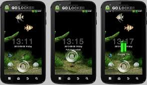 android themes android themes new aquarium go locker animated theme