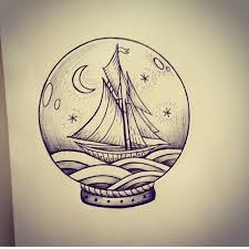 part of the snow globe tattoo series im working on tattoo