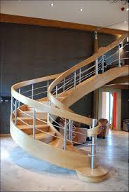 decorations dazzling modern wooden spiral staircase designs on