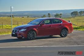 lexus car 2013 2013 lexus gs 350 f sport review video performancedrive