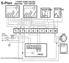 y plan central heating system stuning wiring diagram for port s and