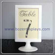 wedding table number holders place card holder sign holder table number holder wedding party