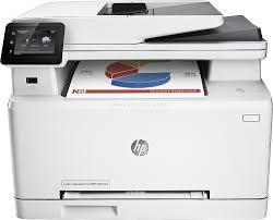 hp laserjet pro m277dw wireless color all in one printer gray