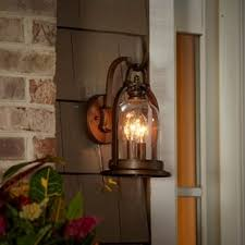 Lantern Wall Sconce Outdoor Wall Lighting For Less Overstock