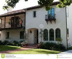 colonial house stock photo image 46076919