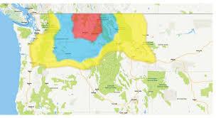 Yakima Washington Map by Urm Distribution Area U003e Urm Foodservice