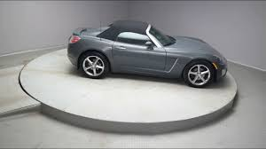 2008 carbon flash w black convertible top saturn sky convertible