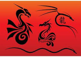 chinese dragon vector free 1106 free downloads