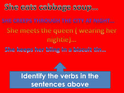 spag verb tenses revision by joridd teaching resources tes