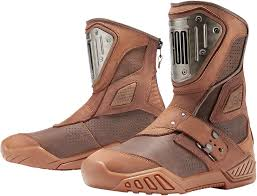 motorcycle riding shoes mens mens icon brown leather armor retrograde motorcycle riding street