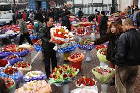 buy roses s day hot in china