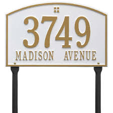 home decor address home decor appealing lawn address plaques to complete cape