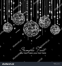 black white ornaments stock vector 118550923