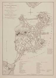 1775 Map Of Boston by Common Place A Loyalist Guarded Re Guarded And Disregarded
