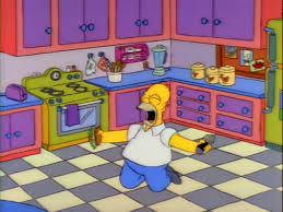 Simpsons Floor Plan The Simpsons As Eaten On Tv
