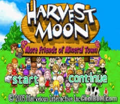 harvest moon harvest moon more friends of mineral town rom download for gameboy