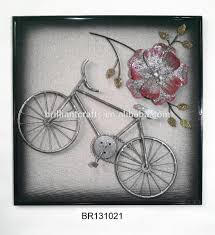 wall decor metal bicycle wall art design dimensional motorcycle