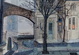 Production Designer Art Director Amazing Backgrounds From 101 Dalmations Walt Disney Studios 1961