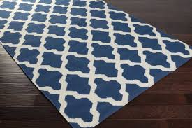 Blue Area Rugs And White Area Rugs