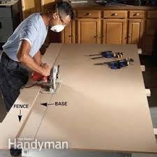 use circular saw as table saw circular saw guide two essential saw cutting guides family handyman