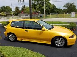 honda hatchback 1993 93 honda civic hatchback b series motor