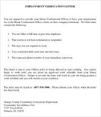 employee verification letter 10 free word pdf documents