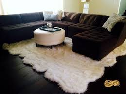Animal Area Rugs Coffee Tables Sheepskin Area Rugs Animal Pelt Rugs Animal Skin