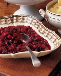 chunky apple cranberry sauce