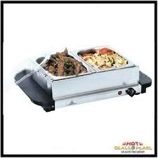 buy serving electric buffet with 2 warming trays online best