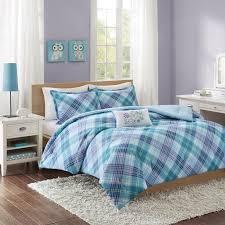 Teen Comforter Set Full Queen by Purple Teen Bedding Set Humanefarmfunds Org