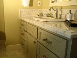 Install Bathroom Vanity Sink Beautiful Replace Bathroom Vanity Top Using White Marble