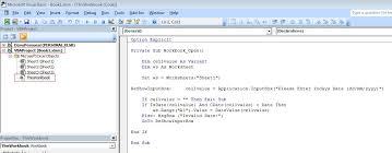 excel input box on workbook open stack overflow