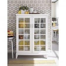 Living Room Cabinets With Glass Doors Glass Door Media Cabinet Visionexchange Co