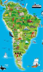 Detailed World Map Illustrated Children World Map Geo Kids World