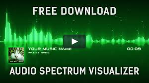 audio spectrum visualization after effects template free download