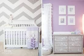 Purple Nursery Decor 20 Lavender Nurseries Of And Style
