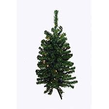 3 battery operated pre lit led pine artificial