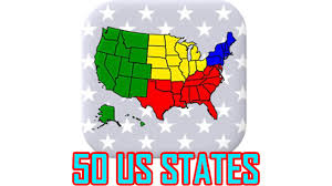 Map States And Capitals by 50 Us States Capitals U0026 Flags On The Us Map All Answers
