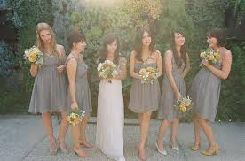 charcoal grey bridesmaid dresses grey bridesmaid dresses lead its way in 2014 weddings