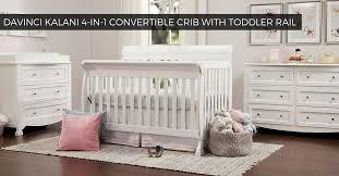 Toddler Rail For Convertible Crib Is The Davinci Kalani 4 In 1 Convertible Crib With Toddler Rail