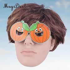 5pcs pumpkin glasses eyewear thanksgiving day fall