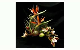 tropical flower arrangements tropical silk flower arrangements