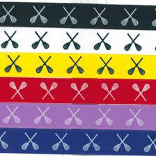 softball ribbon by the yard lacrosse printed ribbon by the yard longstreth