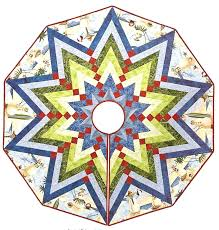 Poinsettia Christmas Tree Skirt Tree Skirt By Jane Hardy Miller Pattern In French Braid Obsession